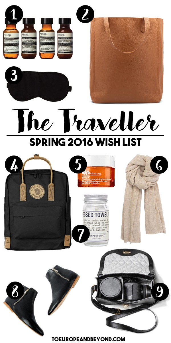 luxury travel things wish list