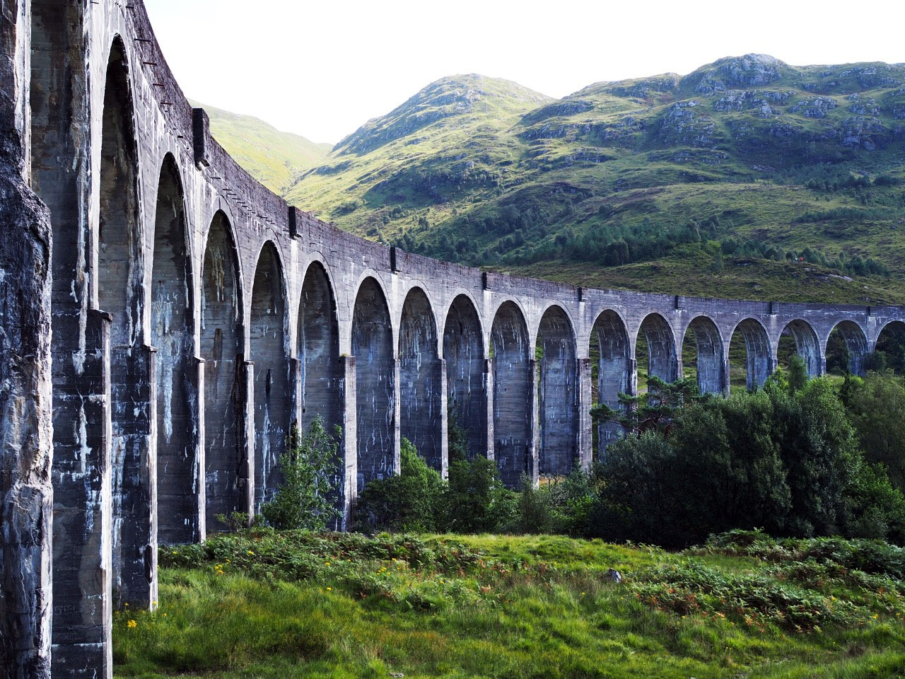 Harry Potter Train in Scotland